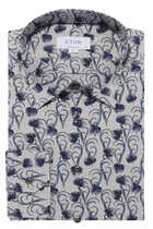قميص فلانيل بنقشة زهور