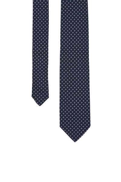 ربطة عنق حرير بنقشة