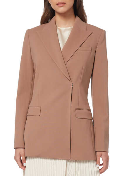 Db Tailor Jkt Nb.Core Wool St 3:Light/Pastel Brown:10