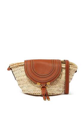 حقيبة مارسي صغيرة بتصميم سلة