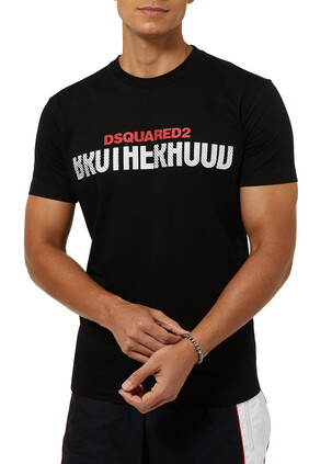 تي شيرت قطن بشعار Brotherhood