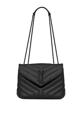 حقيبة لولو صغيرة جلد مبطن بتصميم Y