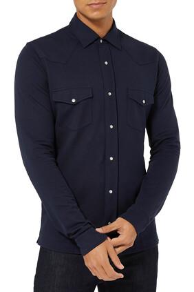 قميص بصف أزرار