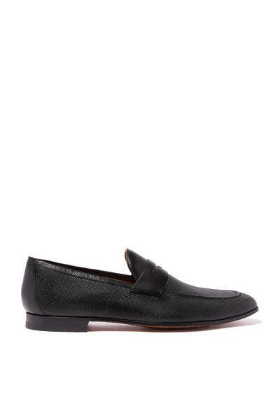 حذاء سهل الارتداء بيني بملمس بارز