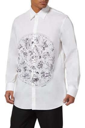 قميص بطبعة أبراج فلكية
