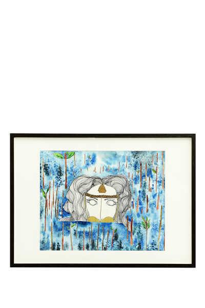 لوحة ليدي لايونيس ويت غاردن