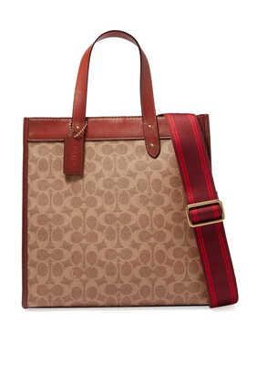 حقيبة يد فيلد قنب بشعار الماركة