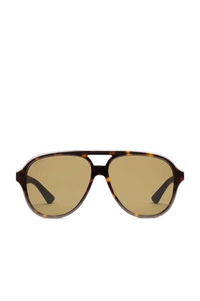 نظارة شمسية بإطار أسيتات ومعدن