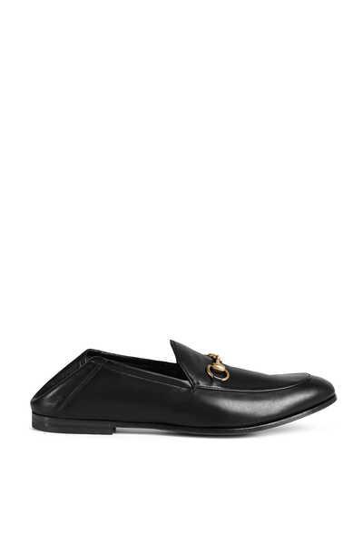 حذاء سهل الارتداء بحلية على شكل لجام حصان