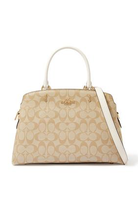 حقيبة ليلي قنب بشعار الماركة
