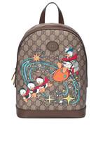 حقيبة ظهر صغيرة بطبعة دونالد دك ديزني × غوتشي