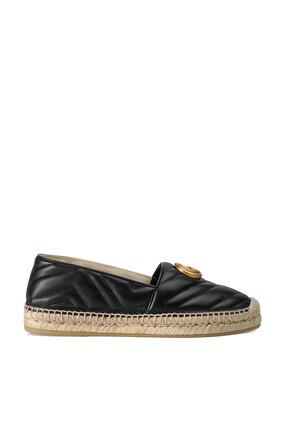 حذاء إسبادريل بشعار حرفي G جلد