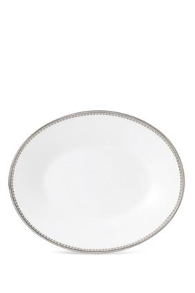 طبق وعاء تقديم الصلصة فيرا وانغ ليس بلون بلاتيني 20 سم