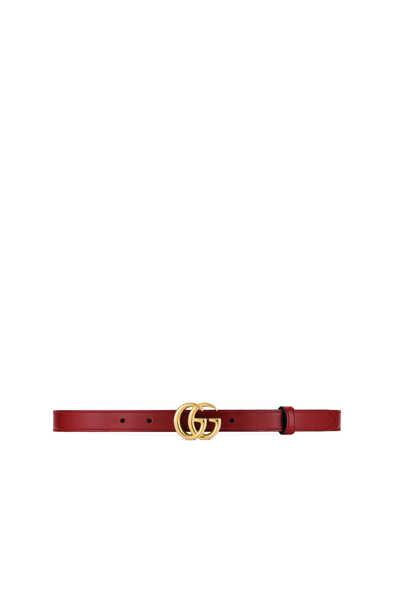 حزام مارمونت جلد رفيع مزين بحرفي G
