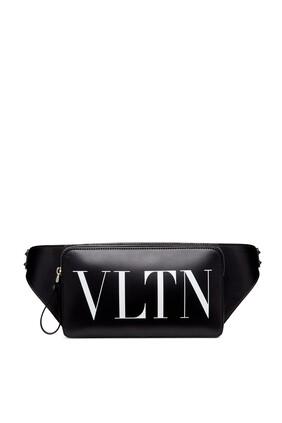 حقيبة خصر بطبعة شعار VLTN