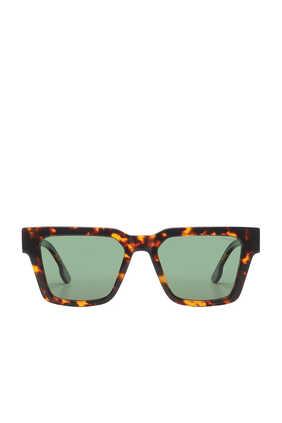 نظارة شمسية بوب بإطار مربع