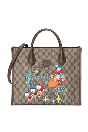 حقيبة يد بطبعة دونالد دك ديزني × غوتشي