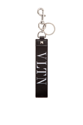 SMALL VLTN BAG CHARM:BLK:One Size