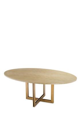 طاولة ملكيور بيضاوية