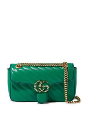 حقيبة كتف مارمونت صغيرة بشعار GG