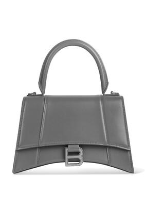 حقيبة بيد علوية وتصميم مقوس