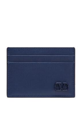 حافظة بطاقات ميني بشعار V