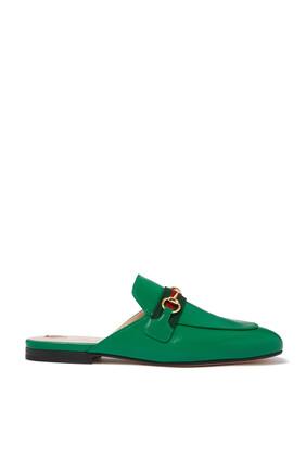 حذاء برنس تاون مفتوح من الخلف جلد