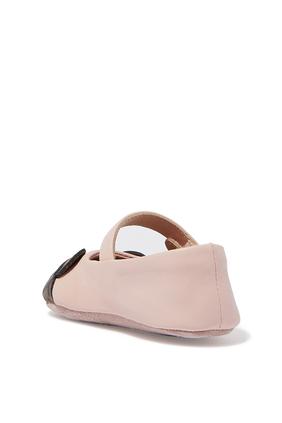 حذاء باليرينا بتصميم دب