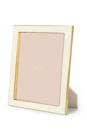 AE Classic Shagreen 8x10 Frame Cream:Multi Colour:One Size