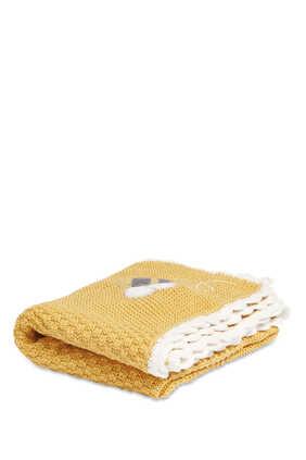 بطانية منسوجة بي هابي