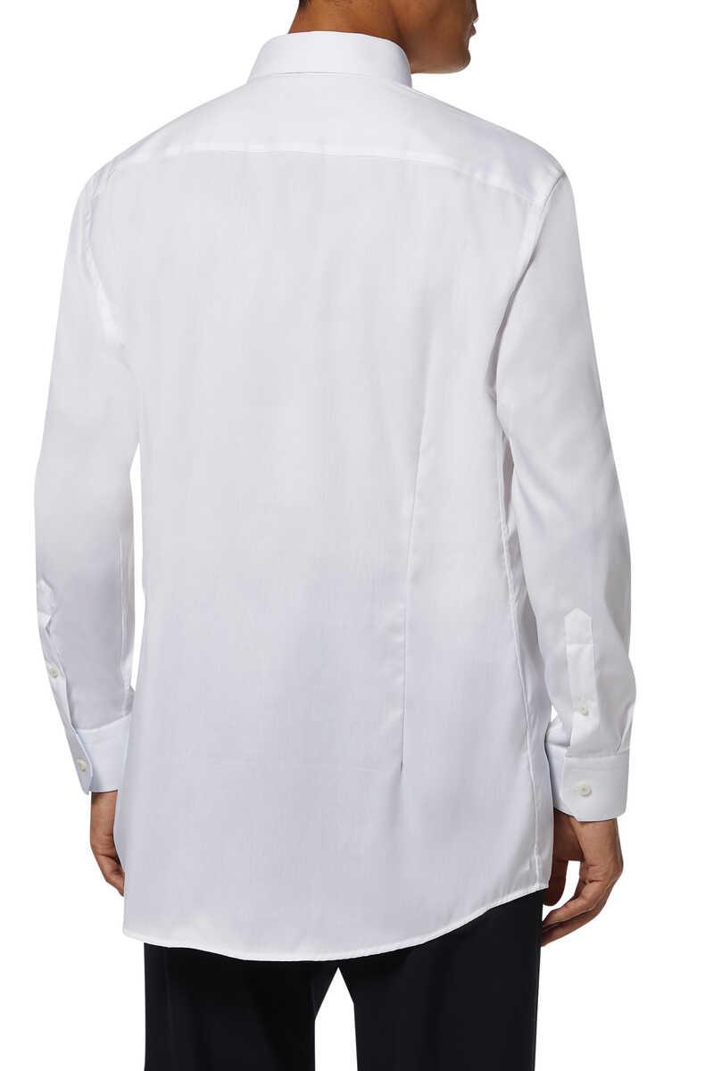 قميص بوبلين بنقشة زخارف image number 3