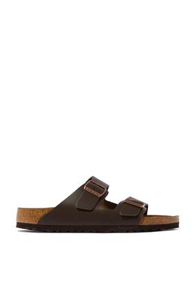 حذاء أريزونا مفتوح جلد معالج بالزيت