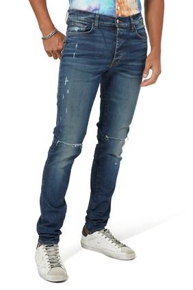 بنطال جينز سلاش بقصة ضيقة