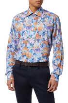 قميص تويل بنقشة زهور