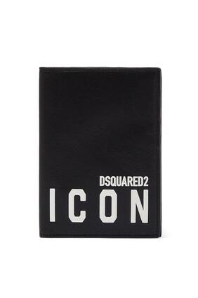 حافظة بطاقات بطبعة Icon