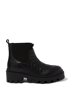 حذاء بوت تشيلسي بتصميم مبطن
