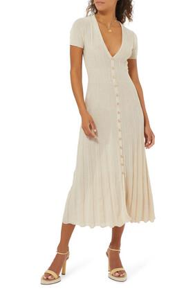 فستان بتصميم كارديغان