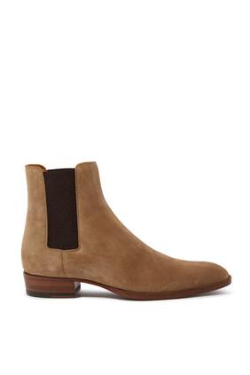 حذاء بوت وايت شمواه
