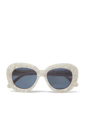 نظارة شمسية استريد شفافة