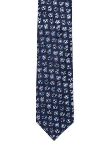ربطة عنق بنقشة بيزلي صغيرة