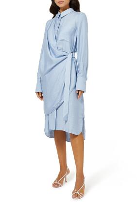 فستان سيرينا بتصميم قميص