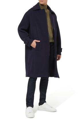 معطف دفل بياقة