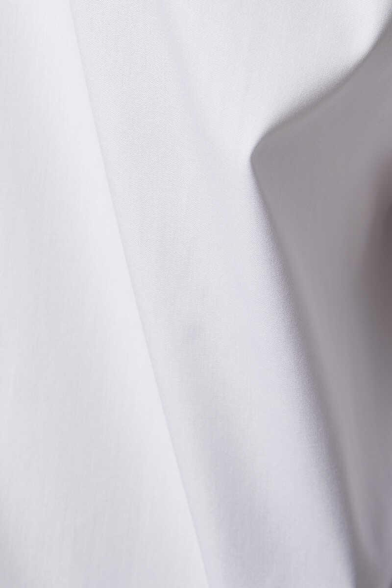 قميص بشريط بنقشة زهور صغيرة image number 4