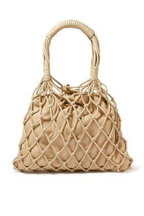حقيبة نايا بتصميم مكرمية