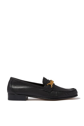 حذاء سهل الارتداء جلد